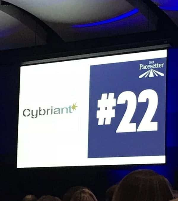 Cybriant named Atlanta Business Chronicle Pacesetter, one of Atlanta's Fastest-Growing Private Companies