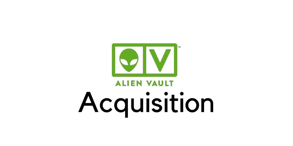 alienvault acquisition
