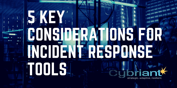 incident response tools