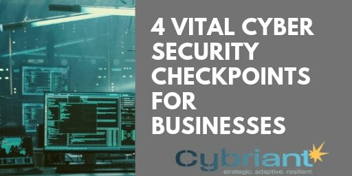 4 Vital Cyber Security Checkpoints for Businesses