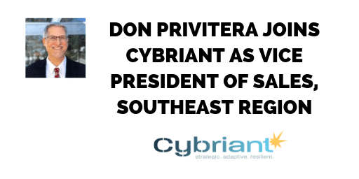 Cybriant Announces Vice President of Sales, Southeast Region