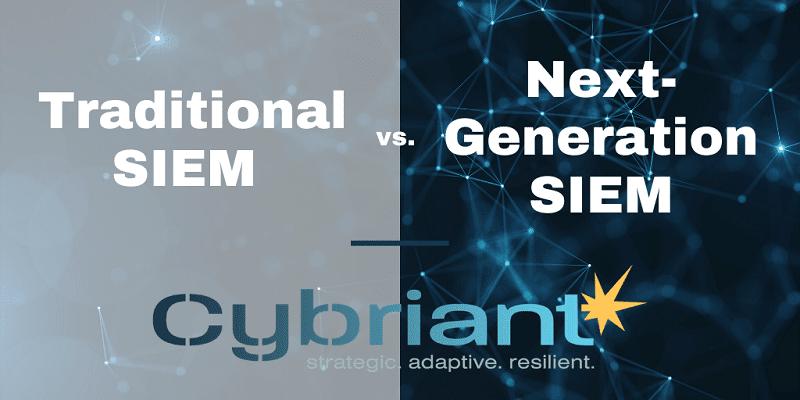 Traditional SIEM vs. Next-Generation SIEM