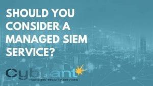 managed siem service