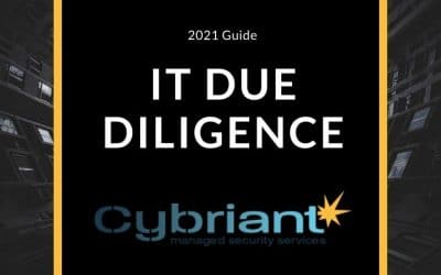 2021 Guide to Cybersecurity and IT Due Diligence