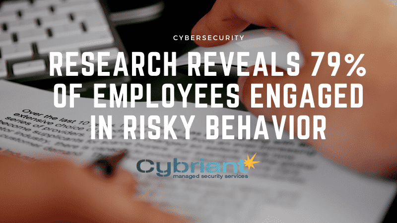 Cybersecurity: Research Reveals 79% of Employees Engaged in Risky Behavior